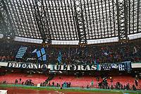 Tifosi del Napoli della curva A fans, supporters<br /> Napoli 18-02-2018  Stadio San Paolo <br /> Football Campionato Serie A 2017/2018 <br /> Napoli - Spal<br /> Foto Cesare Purini / Insidefoto