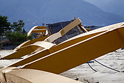 Ponulele bridge that connected West and East Donggala was destroyed when an earthquake of 7.5 earthquake magnitude hit off the coast of Donggala, Palu Sulawesi Central, Indonesia on Sept. 28th causing a tsunami.