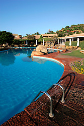 ITALY SARDINIA CHIA 28SEP07 - General view of the swimming pool at the Le Meridien Chia Laguna resort near Domus de Maria, southern Sardinia. <br /> <br /> jre/Photo by Jiri Rezac<br /> <br /> &copy; Jiri Rezac 2007<br /> <br /> Contact: +44 (0) 7050 110 417<br /> Mobile:  +44 (0) 7801 337 683<br /> Office:  +44 (0) 20 8968 9635<br /> <br /> Email:   jiri@jirirezac.com<br /> Web:    www.jirirezac.com<br /> <br /> &copy; All images Jiri Rezac 2007 - All rights reserved.