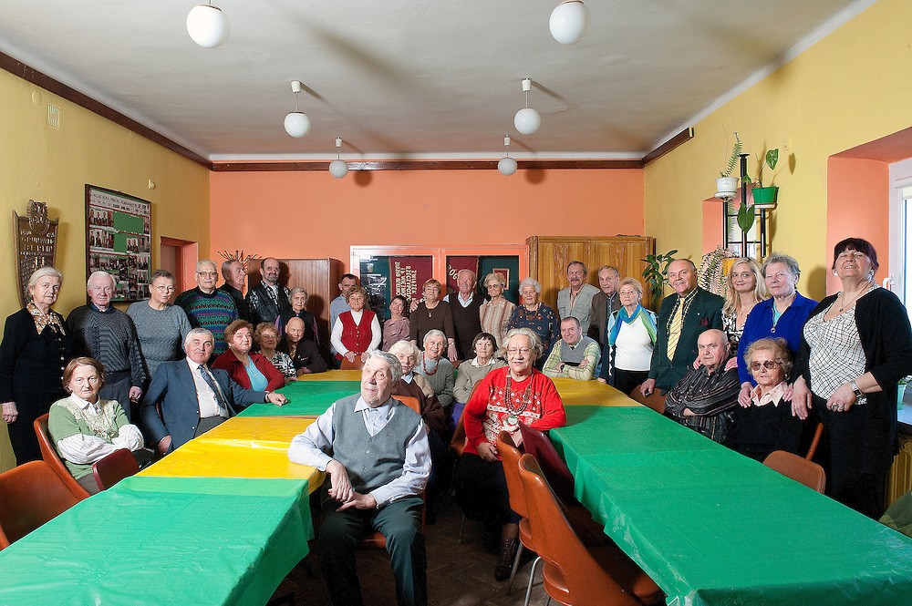 Members of the centre for the elderly &ldquo;Gaudium et Spes&rdquo; in  Nowa Huta, Krak&oacute;w. <br />
