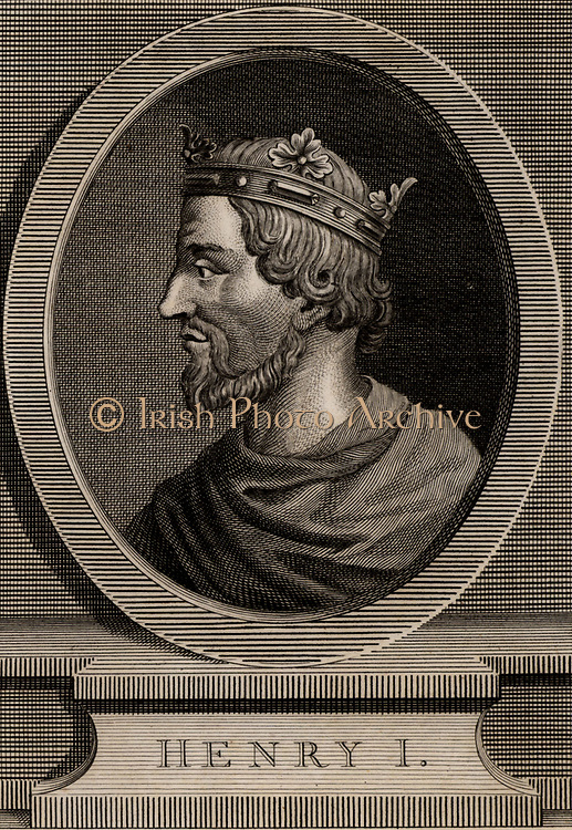 Henry I (c1005-1060) king of France from 1031. Son of Robert II and grandson of Hugh Capet, the founder of the Capetian dynasty. Copperplate engraving 1793.