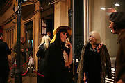 KATHRYN FERGUSON, A Party To Celebrate the Launch of 'A Hedonist's Guide To Life' Maya. Dean St. London. 23 October 2007. -DO NOT ARCHIVE-© Copyright Photograph by Dafydd Jones. 248 Clapham Rd. London SW9 0PZ. Tel 0207 820 0771. www.dafjones.com.