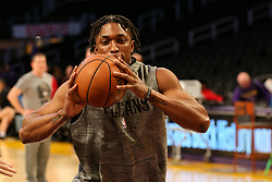 February 27, 2019 - Los Angeles, CA, U.S. - LOS ANGELES, CA - FEBRUARY 27: New Orleans Pelicans Forward Stanley Johnson (3) before the New Orleans Pelicans versus Los Angeles Lakers game on February 27, 2019, at Staples Center in Los Angeles, CA. (Photo by Icon Sportswire) (Credit Image: © Icon Sportswire/Icon SMI via ZUMA Press)