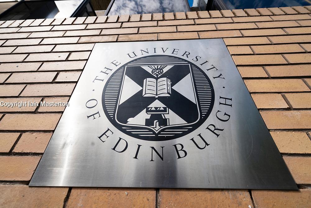 Campus at University of Edinburgh in Old Town , Scotland, UK
