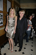 MEREDITH OSTRON AND NICK RHODES, Tatler Summer party. Home House. Portman Sq. London. 27 June 2007.  -DO NOT ARCHIVE-© Copyright Photograph by Dafydd Jones. 248 Clapham Rd. London SW9 0PZ. Tel 0207 820 0771. www.dafjones.com.