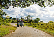Truck near Bahia Honda in Artemisa, Cuba.