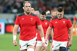 Alun Wyn Jones (capt) of Wales during the Bronze Final match between New Zealand and Wales Mandatory by-line: Steve Haag Sports/JMPUK - 01/11/2019 - RUGBY - Tokyo Stadium - Tokyo, Japan - New Zealand v Wales - Bronze Final - Rugby World Cup Japan 2019