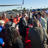 Fiesta Bowl team arrival, John Kelly photo