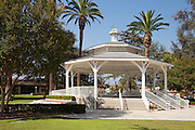 White Gazebo at Live Oak Park Temple City