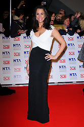 Andrea McLean at the National Television Awards held in London on Wednesday, 25th January 2012. Photo by: i-Images