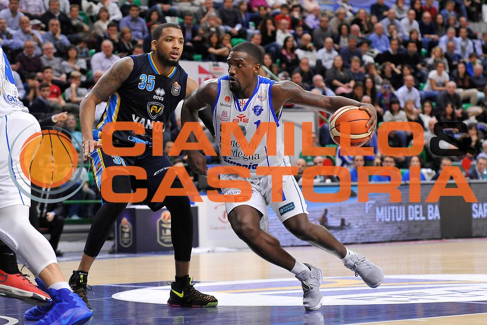 Darius Johnson-Odom<br /> Banco di Sardegna Dinamo Sassari - Vanoli Cremona<br /> LegaBasket Serie A LBA Poste Mobile 2016/2017<br /> Sassari 26/11/2016<br /> Foto Ciamillo-Castoria