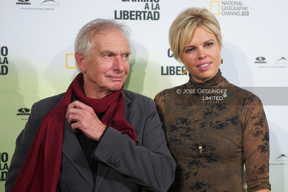 Us film director Peter Weir poses during the premiere of 'The way back' at Capitol Cinema in Madrid