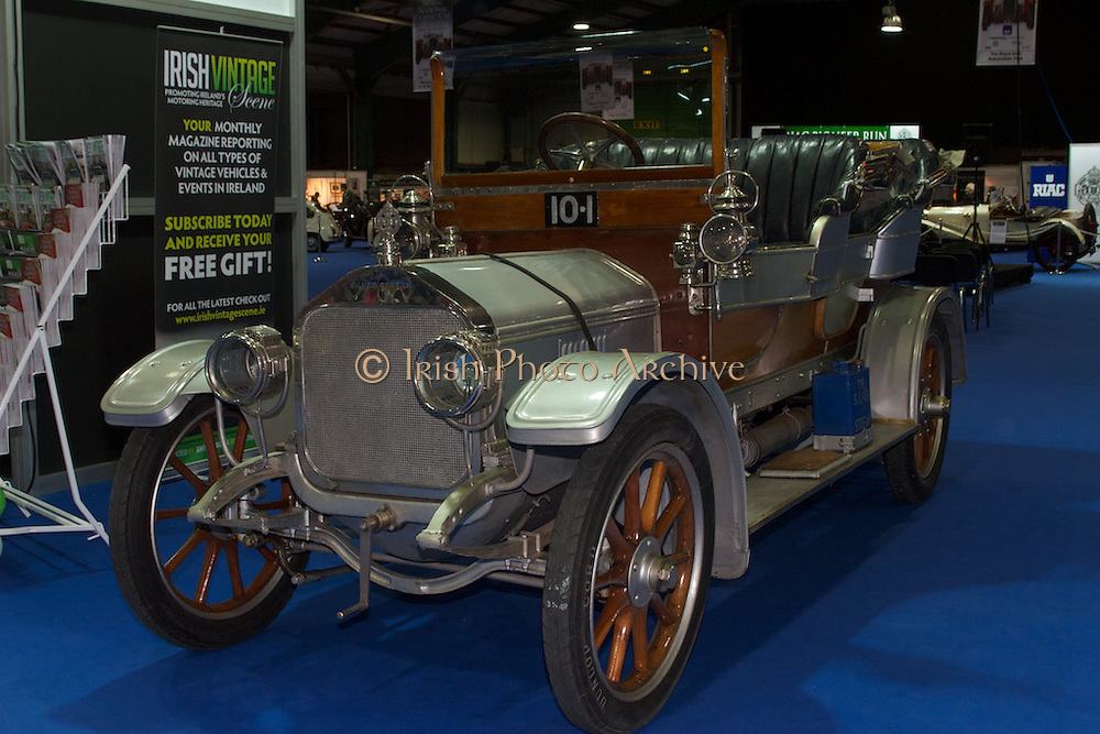 RIAC Classic Car Show 2013, RDS 1909 Silver Stream. A unique car in the most literal sense, Irish, Photo, Archive. It was constructed over the period from 1907 to 1909 as a prototype for a line of large, luxury cars.
