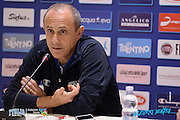 DESCRIZIONE: Torino FIBA Olympic Qualifying Tournament Conferenza Stampa<br /> GIOCATORE: Ettore Messina<br /> CATEGORIA: Nazionale Italiana Italia Maschile Senior  Conferenza Stampa<br /> GARA: FIBA Olympic Qualifying Tournament Conferenza Stampa<br /> DATA: 07/07/2016<br /> AUTORE: Agenzia Ciamillo-Castoria