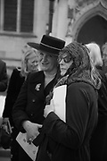 KITTY ARDEN, Service of thanksgiving for  Lord Snowdon, St. Margaret's Westminster. London. 7 April 2017
