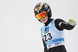 February 8, 2019 - Lara Malsiner of Italy on first competition day of the FIS Ski Jumping World Cup Ladies Ljubno on February 8, 2019 in Ljubno, Slovenia. (Credit Image: © Rok Rakun/Pacific Press via ZUMA Wire)