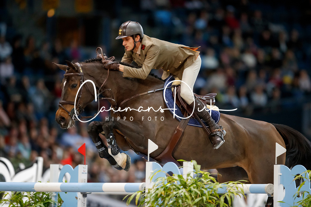 Zorzi Alberto, ITA, Contanga 3<br /> Stuttgart German Masters 2017<br /> &copy; Hippo Foto - Stefan Lafrentz