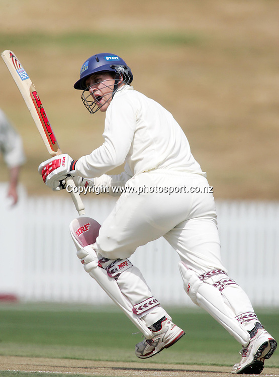 Craig Cumming during the State Championship cricket match between the Northern Knights and the Otago Volts at Seddon Park, Hamilton, New Zealand on Tuesday 6 March 2007. Photo: Hannah Johnston/PHOTOSPORT<br /><br /><br /><br />060307