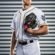 February 26, 2016: Pitcher Jon Edwards #43 poses for a portrait during the San Diego Padres photo day in Peoria, Ariz. (Photo by Ric Tapia/Icon Sportswire)