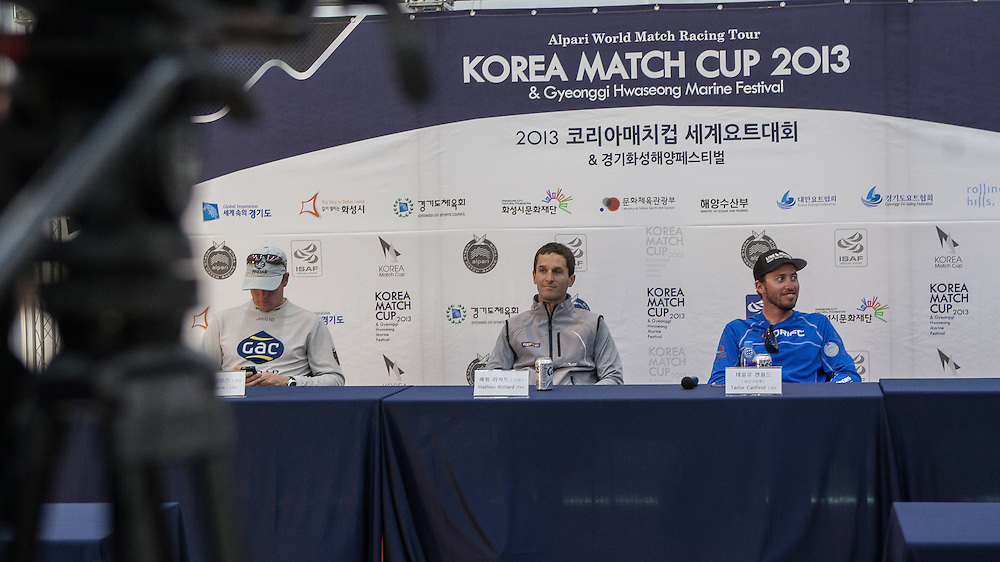 Press Conference at Korea Match Cup 2013. Gyeonggi Province, Korea. 1 June 2013 Photo: Subzero Images/AWMRT