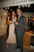 Mr. and Mrs. Christian Broberg, Gala champagne reception and dinner in aid of CLIC Sargent.  Grosvenor House Art and Antiques Fair.  Grosvenor House. Park Lane. London. 15  June 2006. ONE TIME USE ONLY - DO NOT ARCHIVE  © Copyright Photograph by Dafydd Jones 66 Stockwell Park Rd. London SW9 0DA Tel 020 7733 0108 www.dafjones.com