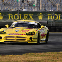Team Racers Edge Motorsports competing at the Rolex 24 at Daytona 2012