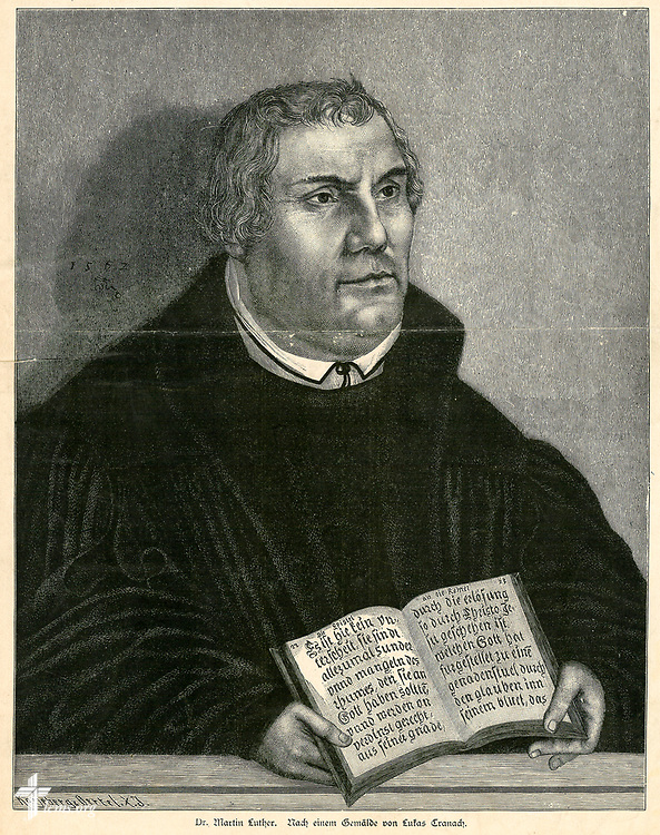Martin Luther from the Concordia Historical Institute Collection