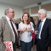 13.05.2016.           <br /> Terry Toomey, Acting President LIT, Maeve Hoey and Shane Malone, LIT pictured at the much anticipated Limerick School of Art & Design, LIT, (LSAD) Graduate Fashion Show on Thursday 12th May 2016. The show took place at the LSAD Gallery where 27 graduates from the largest fashion degree programme in Ireland showcased their creations. Ranked among the world's top 50 fashion colleges, Limerick School of Art and Design is continuing to mold future Irish designers.. Picture: Alan Place/Fusionshooters