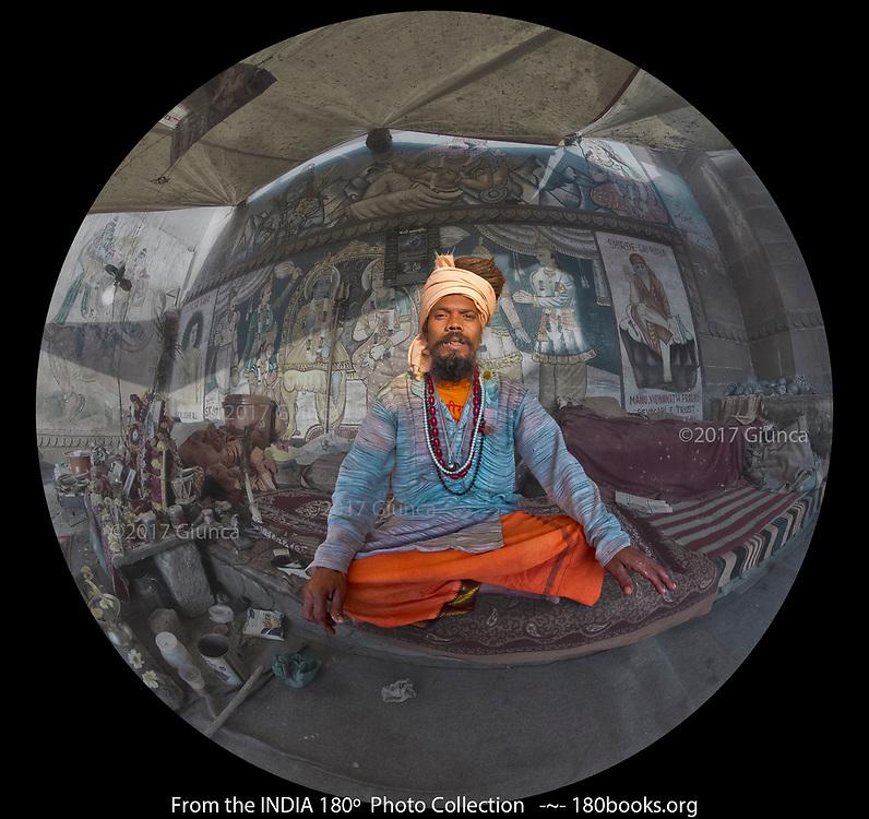 A Healer in the holy city of Varanasi, India