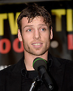 John Duddy speaks at press conference Saturday's for his light middleweight fight with Matt Vanda fight at Madison Square Garden. 18th Feb 2009