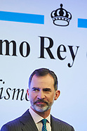 042418 King Felipe VI attends 'Rey de Espana' and 'Don Quijote' Journalism Awards