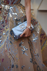 February 24, 2019 - Los Angeles, California, U.S - MICHELLE YEOHS bejeweled  purse during red carpet arrivals for the 91st Academy Awards, presented by the Academy of Motion Picture Arts and Sciences (AMPAS), at the Dolby Theatre in Hollywood. (Credit Image: © Kevin Sullivan via ZUMA Wire)