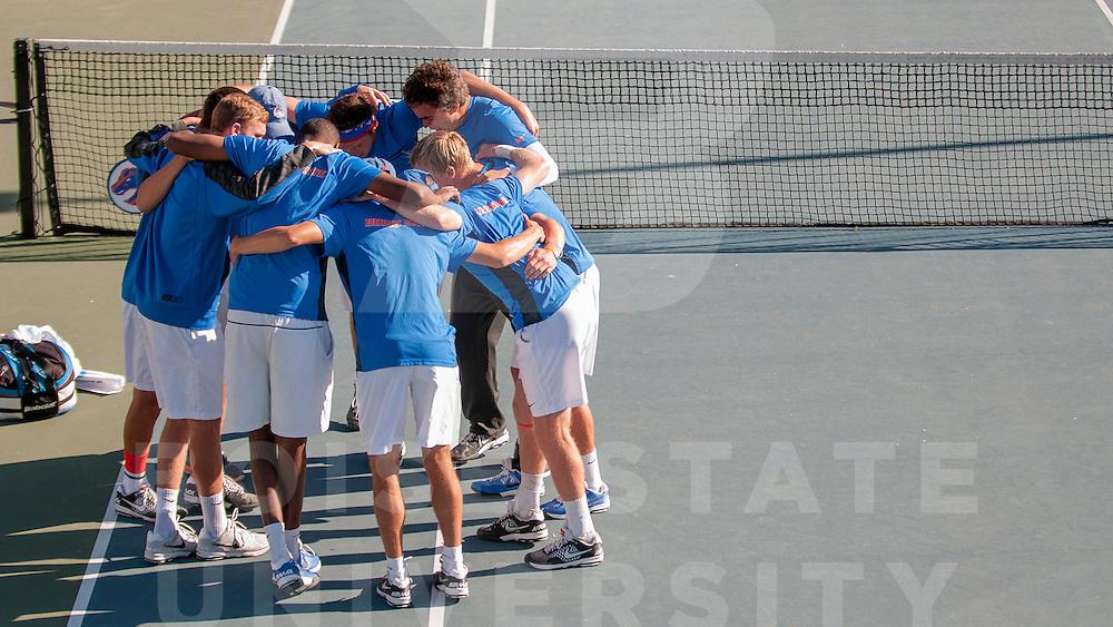 Mens Tennis Vs. SDSU, Photo by Jessica Vargas