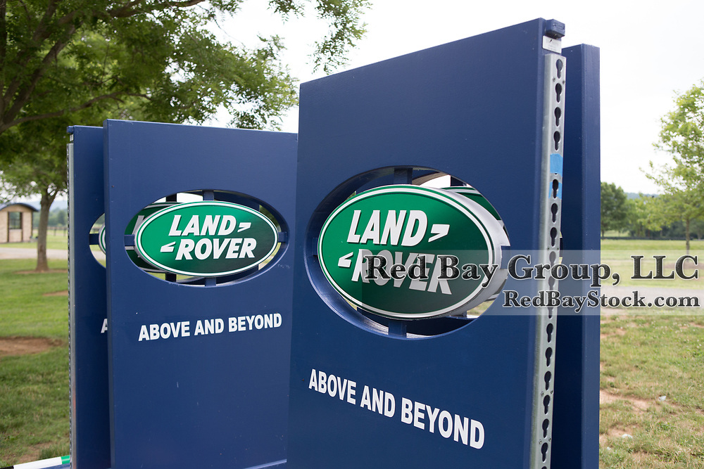 Moving everything in to place ahead of the 2015 Land Rover Great Meadow International, the final preparatory event for the U.S. Pan American Eventing Team prior to the 2015 Pan American Games which will take place in Toronto, Canada, this July, at the Great Meadow Foundation in The Plains, VA on Thursday, June 18, 2015.