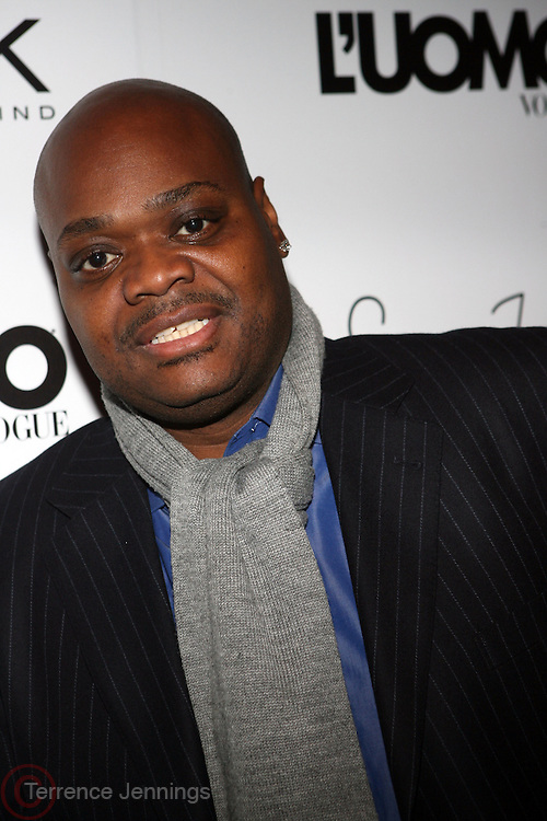 "Phil Robinson pictured at the cocktail party celebrating Sean ""Diddy"" Combs appearance on the "" Black on Black "" cover of L'Uomo Vogue's October Music Issue"