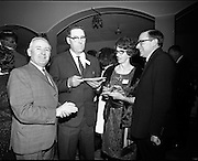 20/04/1970<br /> 04/20/1970<br /> 20 April 1970<br /> Tynagh Mines Dinner Dance at Loughrea, Co. Galway. Austin Kenny; John Handy, Plenco; Mrs. D. Shields and Mr. D. Shields, Loughrea.