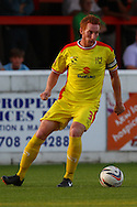 Dean Lewington of Milton Keynes Dons during the Pre Season Friendly match at the London Borough of Barking and Dagenham Stadium, London<br /> Picture by David Horn/Focus Images Ltd +44 7545 970036<br /> 22/07/2014