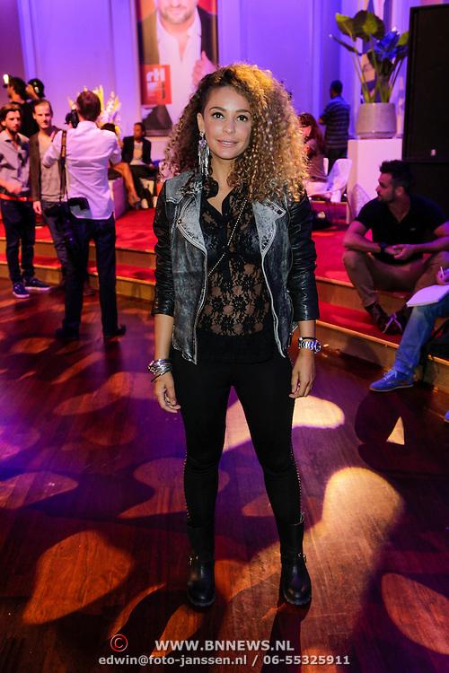 NLD/Hilversum/20120821 - Perspresentatie RTL Nederland 2012 / 2013, Fajah Lourens