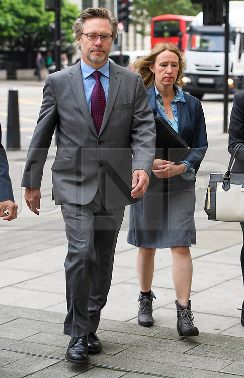 © Licensed to London News Pictures. 09/06/2016. London, UK. JOHN LETTS, (55) and SALLY LANE (53) arrive at Westminster Magistrates Court in London where they face terrorism charges. John Letts and Sally Lane are accused of trying to send money to their son, Jack Letts, AKA 'Jihadi Jack' who is suspected of supporting ISIS after he fled to Syria in 2014 aged 18.  Photo credit: Ben Cawthra/LNP
