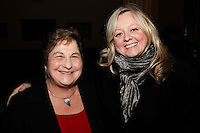 Jo Carter and Pauline Etkin, Nordoff Robbins Carol Service  2011 sponsored by Coutts. London..Wednesday, 14. Dec 2011