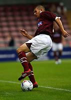 Photo: Marc Atkins.<br /> <br /> Northampton Town v Reading. Pre Season Friendly. 22/07/2006. Northampton Town's Luke Chambers.