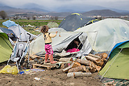 Refugees stuck in Idomeni, 24.03.16