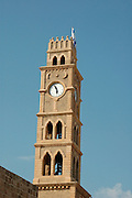 The clock tower in akko<br /> Akko also Acre, is a city in northern Israel with a history spanning centuries. It also played a major role in the holy land crusades