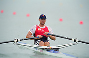 St Catherines, CANADA,  Men's Single Sculls, SUI M1X. Xeno MULLER, competing at the 1999 World Rowing Championships - Martindale Pond, Ontario. 08.1999..[Mandatory Credit; Peter Spurrier/Intersport-images]  .. 1999 FISA. World Rowing Championships, St Catherines, CANADA