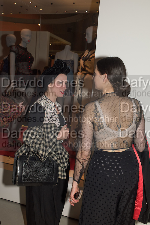 SHARON TRICKETT; ADEL MILDRED;  Undressed: A Brief History of Underwear<br /> At the V&A , South Kensington. London. 13 April 2016