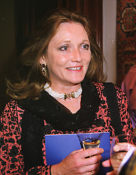 LEONORA, COUNTESS OF LICHFIELD at a dinner in London on 19th May 1999.MSF 50