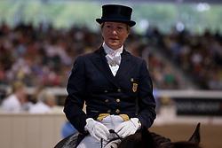 Konyot Tina (USA) - Calecto V<br /> WDM Dressage St Lazare Canada 2012<br /> © Hippo Foto - Cealy Tetly
