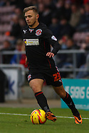 Picture by David Horn/Focus Images Ltd +44 7545 970036<br /> 16/11/2013<br /> David Ball of Fleetwood Town during the Sky Bet League 2 match at Sixfields Stadium, Northampton.