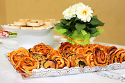 Freshly baked Savoury Pastries