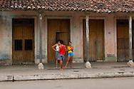 People in Cumanayagua, Cienfuegos, Cuba.